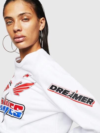 Diesel - ASTARS-F-GIR-A-FL, White - Sweaters - Image 4