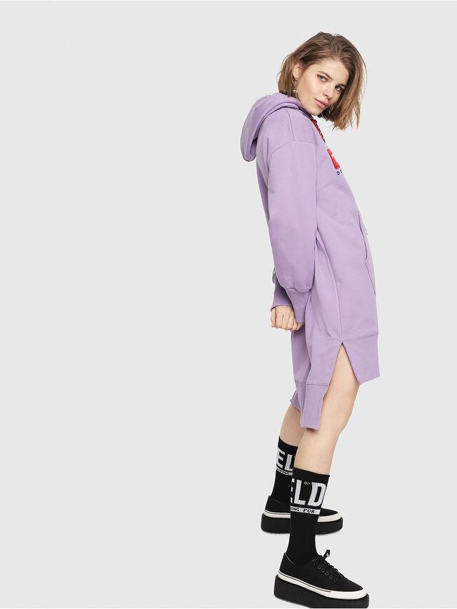 Diesel - D-ILSE-C, Lilac - Dresses - Image 3