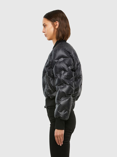 Diesel - W-AVALES, Black - Winter Jackets - Image 3