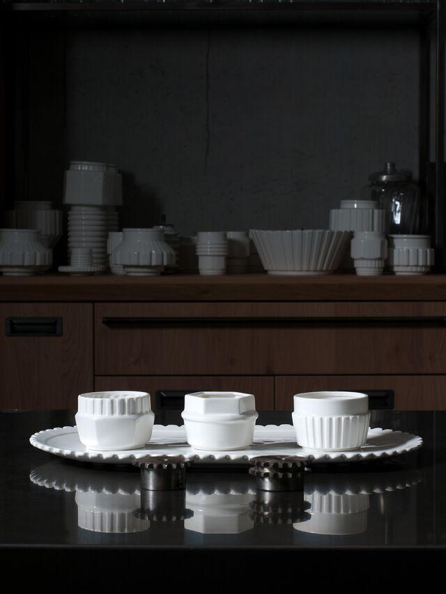 Living 10970 MACHINE COLLEC, White - Bowl - Image 3