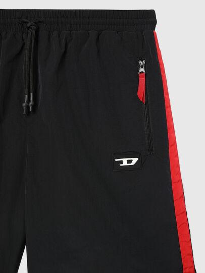 Diesel - UMLB-PANLEY, Black/Red - Pants - Image 3
