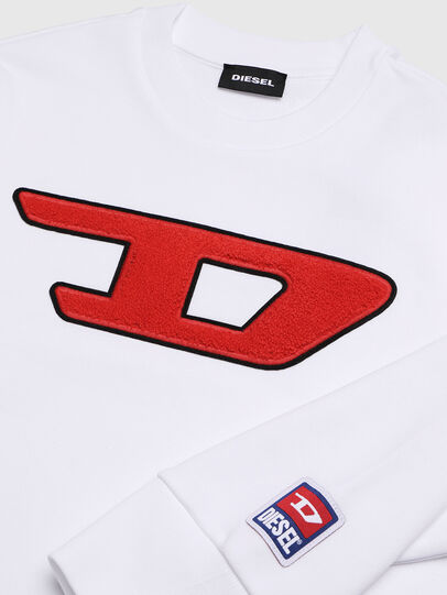 Diesel - SCREWDIVISION-D OVER, White - Sweaters - Image 3
