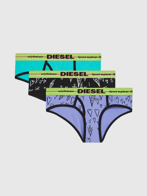 UFPN-OXY-THREEPACK, Green/Black - Panties