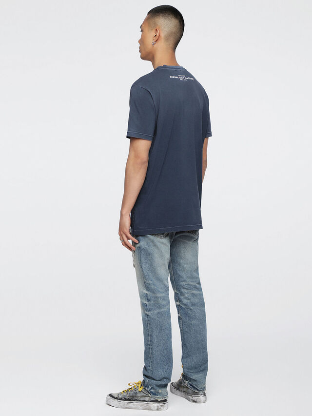 Diesel T-KEITHS, Blue - T-Shirts - Image 4