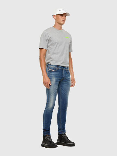 Diesel - Sleenker 009FC, Medium blue - Jeans - Image 6