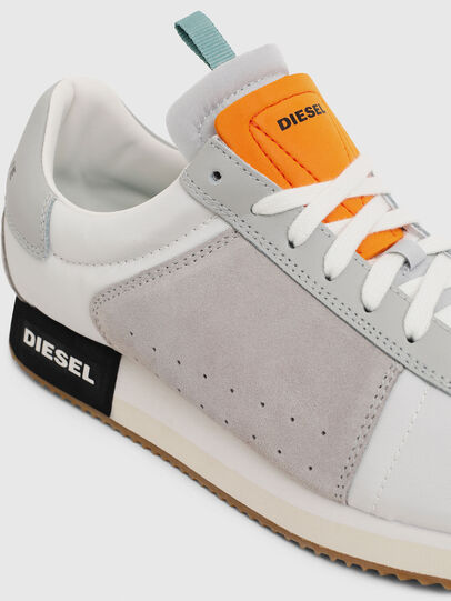 Diesel - S-PYAVE LC, White/Grey - Sneakers - Image 5
