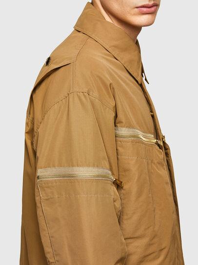 Diesel - J-THOMPSON, Light Brown - Jackets - Image 5