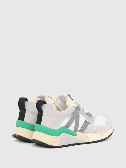 Diesel - S-BRENTHA WL, White/Grey - Sneakers - Image 3