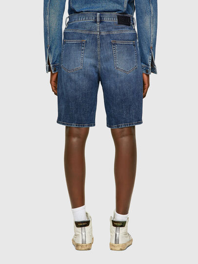 Diesel - D-STRUKT-SHORT, Medium blue - Shorts - Image 2