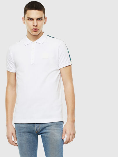 Diesel - T-RALFY-S1, White - Polos - Image 1
