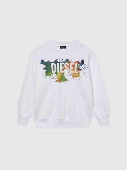 Diesel - SCREWDOSKY OVER, White - Sweaters - Image 1