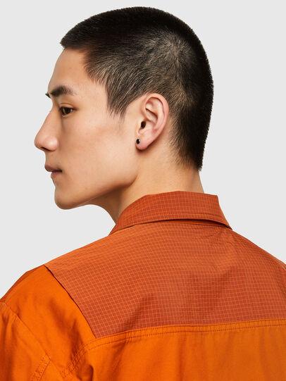 Diesel - S-GUNN-LS, Orange - Shirts - Image 4