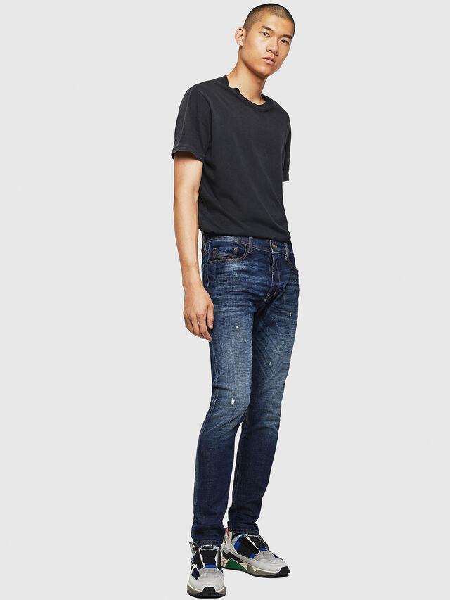 Diesel - Tepphar 087AT, Dark Blue - Jeans - Image 6