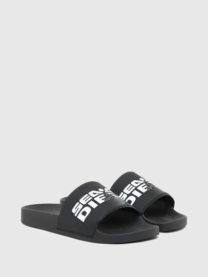 Diesel - SA-VALLA W, Dark Blue - Slippers - Image 2