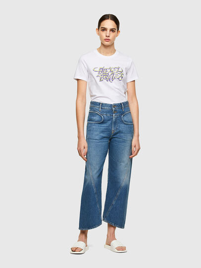 Diesel - T-SILY-K8, White - T-Shirts - Image 4