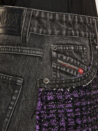 Diesel - O-SAN, Violet/Black - Skirts - Image 3