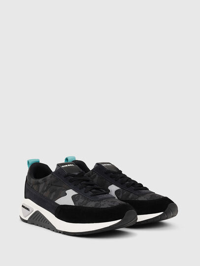 Diesel - S-KB LOW LACE II, Black/Dark grey - Sneakers - Image 2