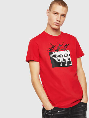 T-DIEGO-J12, Red - T-Shirts