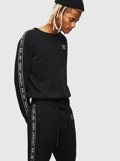 Diesel - K-TRACKY-C, Black - Knitwear - Image 1