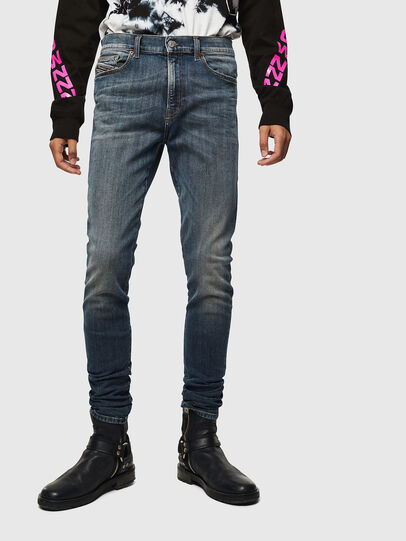 Diesel - D-Amny 069KG, Dark Blue - Jeans - Image 1