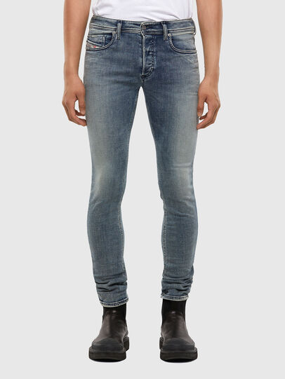 Diesel - Sleenker 009KL, Medium blue - Jeans - Image 1