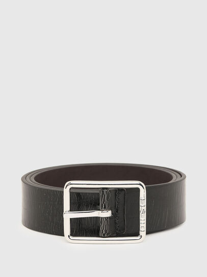 Diesel - B-PHOTO, Black/Brown - Belts - Image 1