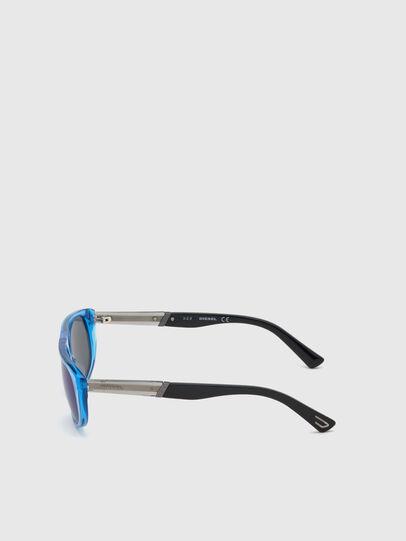 Diesel - DL0306, Blue/Black - Kid Eyewear - Image 3