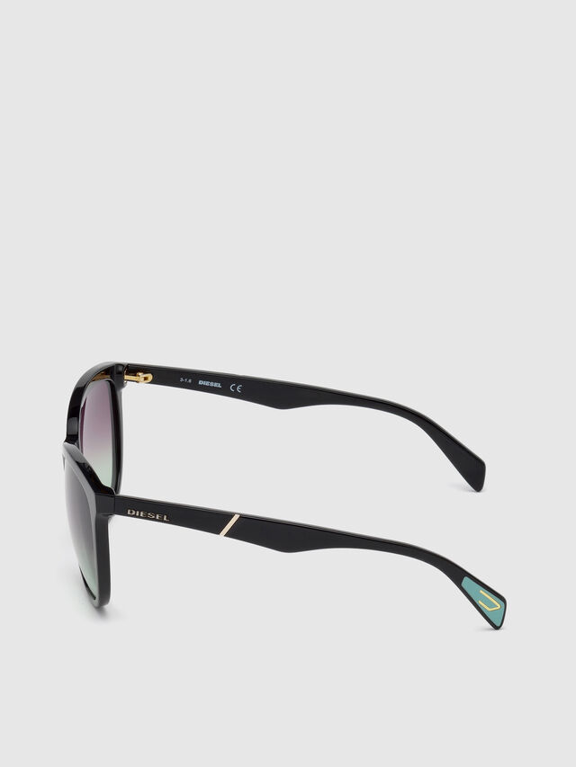 Diesel - DL0221, Black - Sunglasses - Image 3