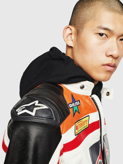 Diesel - ASTARS-LPATCH-1A,  - Leather jackets - Image 3