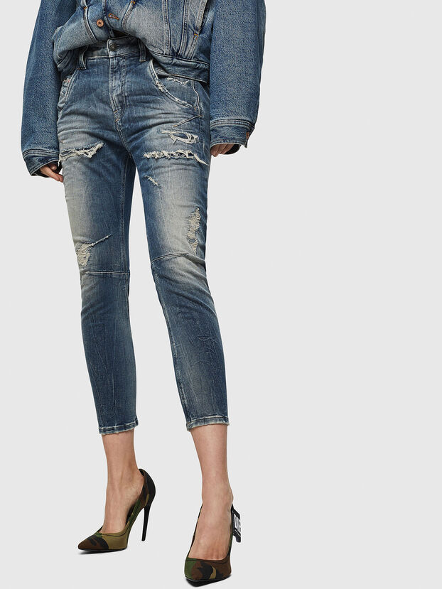 Fayza JoggJeans 0890A, Light Blue - Jeans
