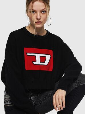 M-LINDA, Black/Red - Knitwear