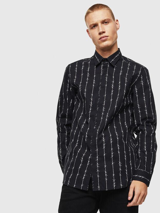 S-BARBWI, Black - Shirts
