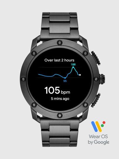 Diesel - DT2017, Dark grey - Smartwatches - Image 7