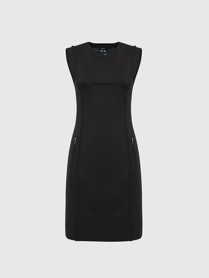 Diesel - D-PHILO, Black - Dresses - Image 1