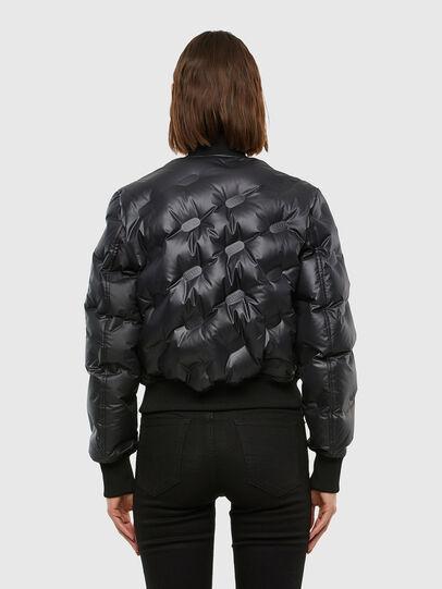 Diesel - W-AVALES, Black - Winter Jackets - Image 2
