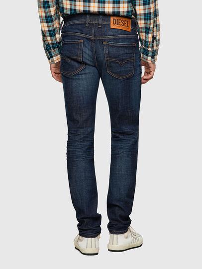 Diesel - Sleenker 09A43, Dark Blue - Jeans - Image 2