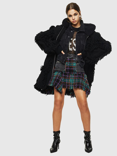 Diesel - M-LYNE, Black - Winter Jackets - Image 7