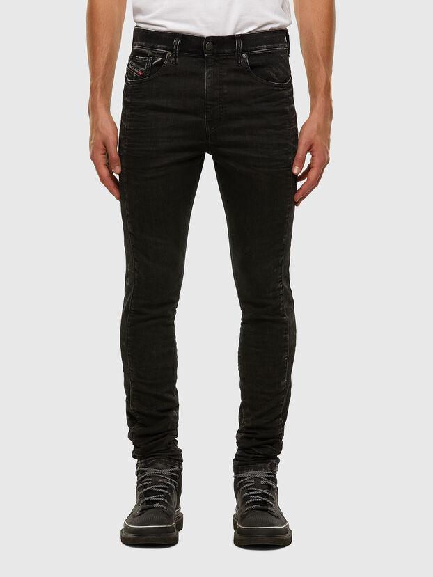 D-REEFT JoggJeans® 009FY, Black/Dark grey - Jeans