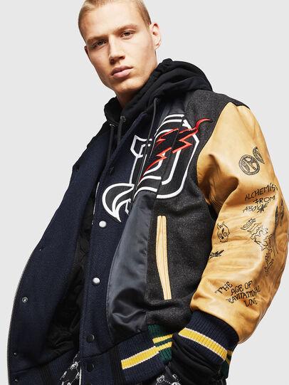 Diesel - L-ANTON,  - Leather jackets - Image 4