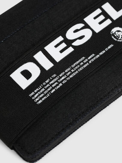 Diesel - ORGANIESEL, Black - Small Wallets - Image 4