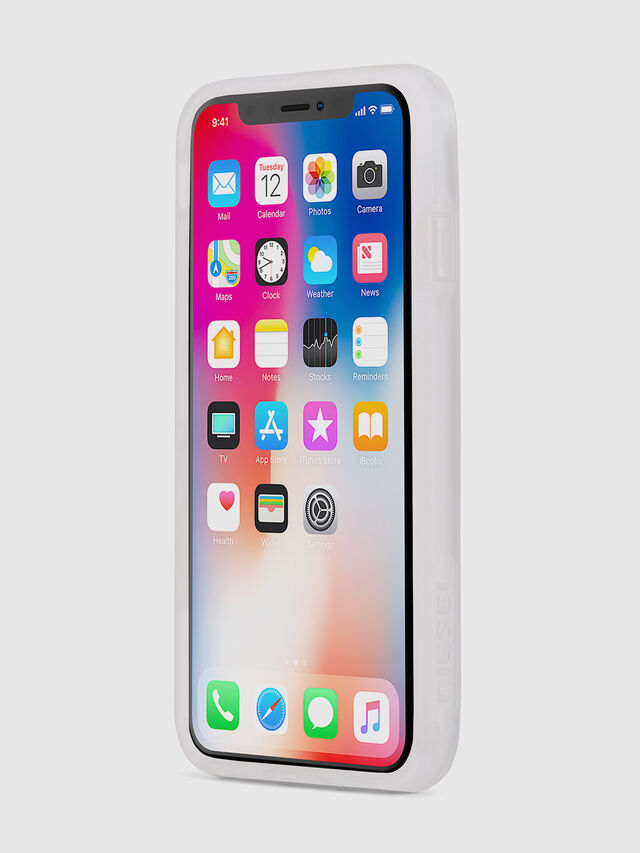 Diesel BLAH BLAH BLAH IPHONE X CASE, White - Cases - Image 3