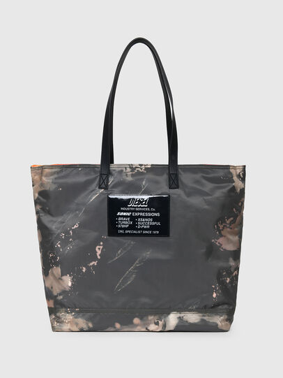 Diesel - VIVYAN, Grey/Orange - Shopping and Shoulder Bags - Image 1