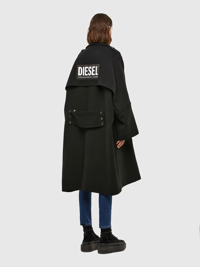 Diesel - W-TILLER, Black - Winter Jackets - Image 7