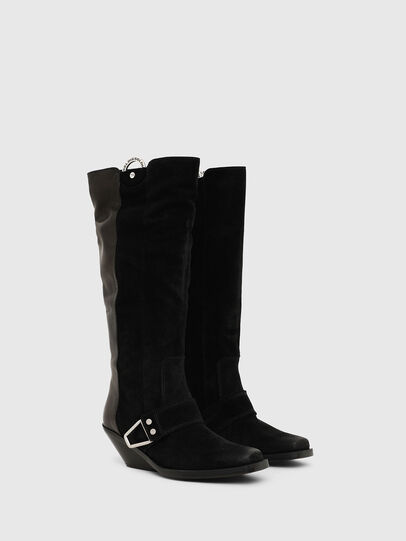 Diesel - D-GIUDECCA MBR, Black - Boots - Image 3
