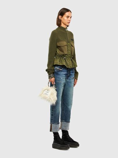 Diesel - M-EKA, Military Green - Knitwear - Image 7