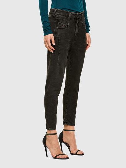 Diesel - Fayza JoggJeans 009HM, Black/Dark grey - Jeans - Image 5