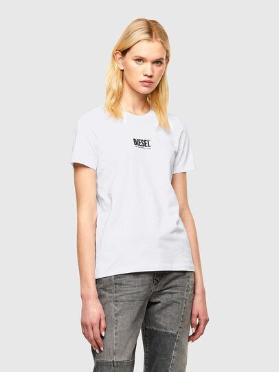 Diesel - T-SILY-SMALLOGO, White - T-Shirts - Image 1
