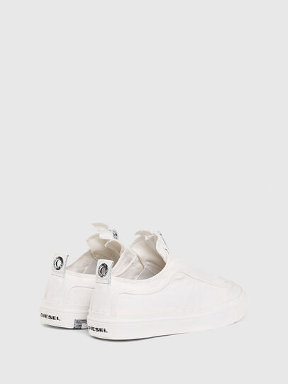 Diesel - S-ASTICO LOW ZIP SP, White - Sneakers - Image 3