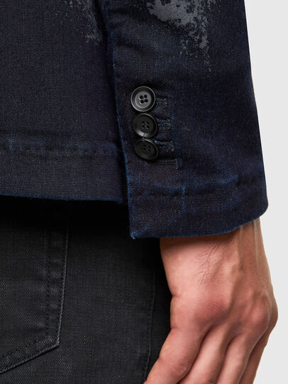 Diesel - D-COSMO-SP JOGGJEANS, Blue/Grey - Denim Jackets - Image 4