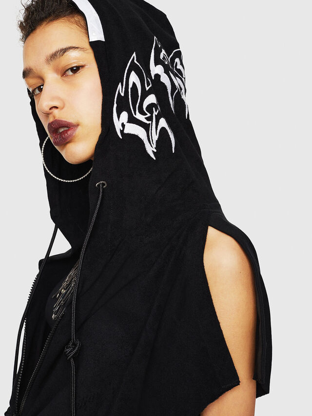Diesel - D-LUNAI-A, Black - Dresses - Image 4